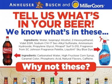 PHOTO: Food investigator and blogger Vani Hari wants the big beer manufacturers to list their ingredients.