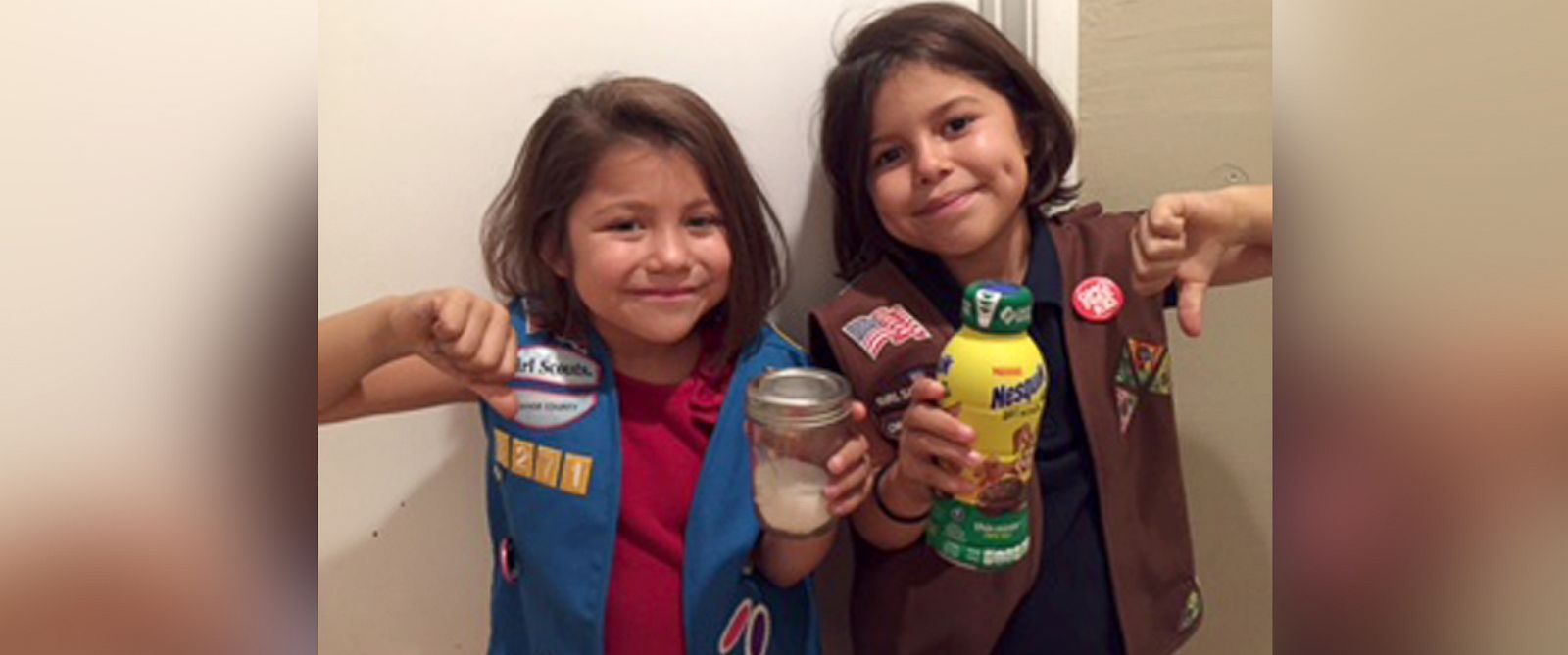 PHOTO: A California mother of two has petitioned the Girl Scouts to end their partnership with Nestle over a cookie-flavored drink that contains 48 grams of sugar per bottle.