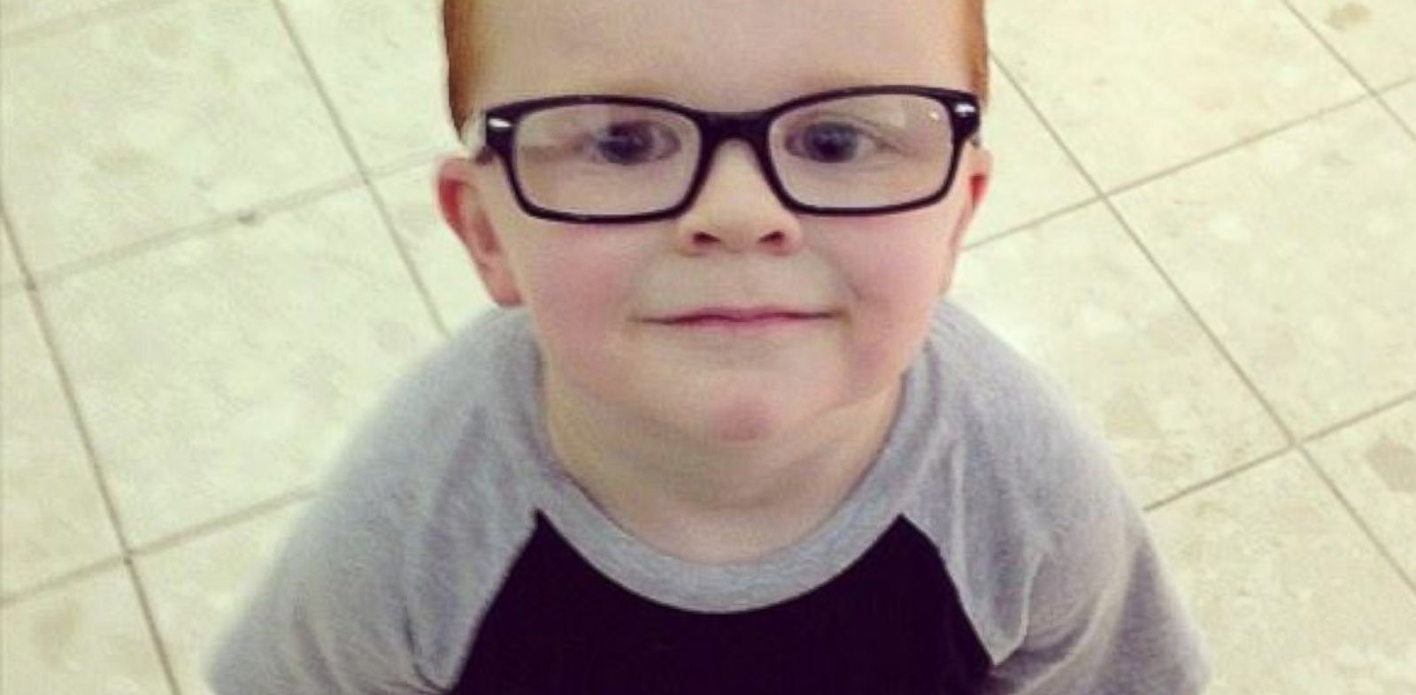 PHOTO: A mom turns to Facebook users to help her son feel better about his new glasses.