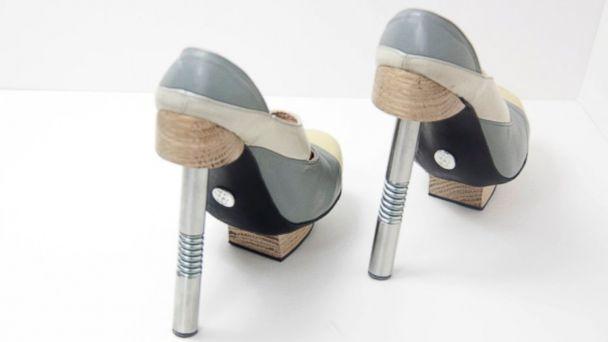 HT hydraulic heels 03 jef 140604 16x9 608 U.K. Designer Adds Kick With Hydraulic Heels