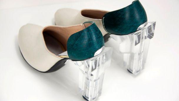 HT hydraulic heels 04 jef 140604 16x9 608 U.K. Designer Adds Kick With Hydraulic Heels