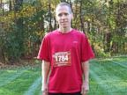 PHOTO: James McCabe is running marathons after having breast cancer twice.