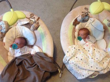 Handholding 'Mono Mono' Twins Go Home