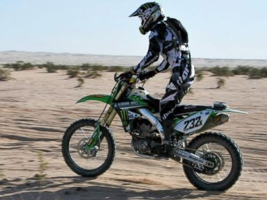 'Wounded Warrior' Poised to Make Motocross History on Prosthetics