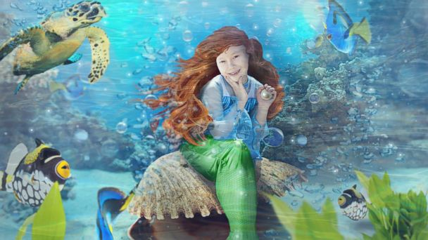 HT kid dreams mermaid drawing hope sk 140417 16x9 608 Childrens Dreams Come True One Picture at a Time