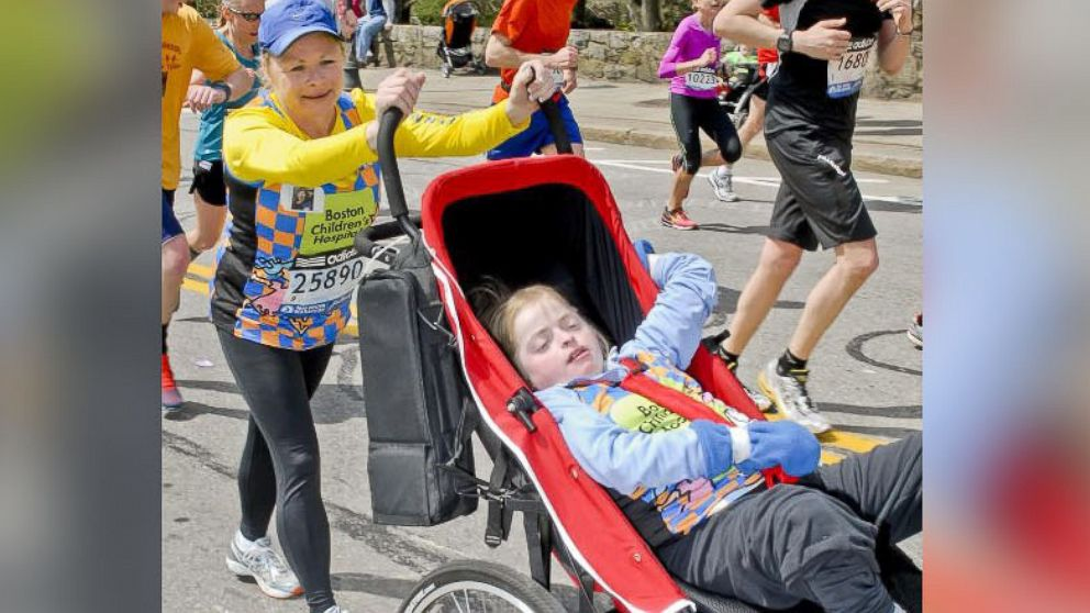 mom tells disabled daughter boston marathon bombs are