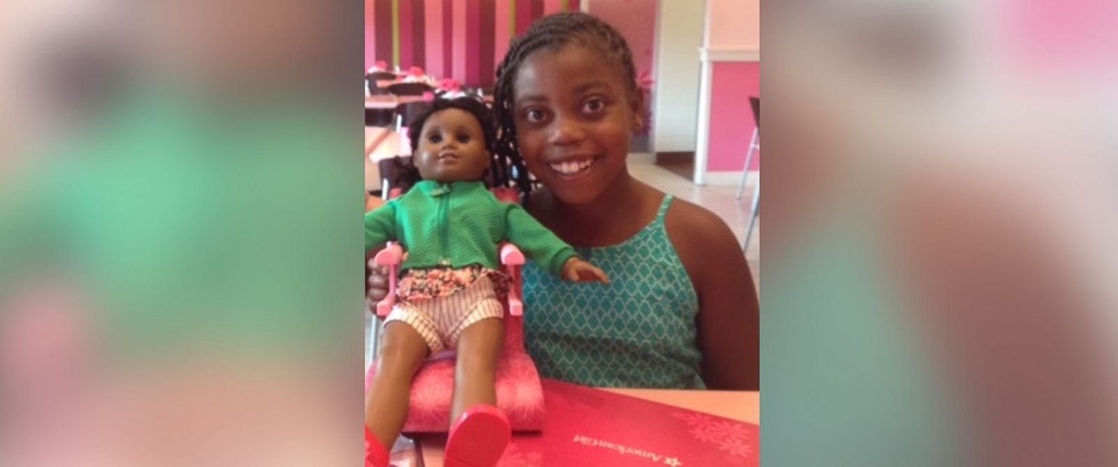 PHOTO: Lamaya Sakales, 10, has started a petition on Change.org asking her favorite doll company, American Girl, to make a doll that looks just like her.