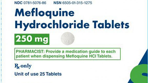 HT lariam mefloquine hydrochloride thg 130730 16x9 608 FDA Slaps Black Box Warning on Malaria Drug Linked to Killings