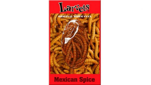 PHOTO: Larvets Original Worm Snax
