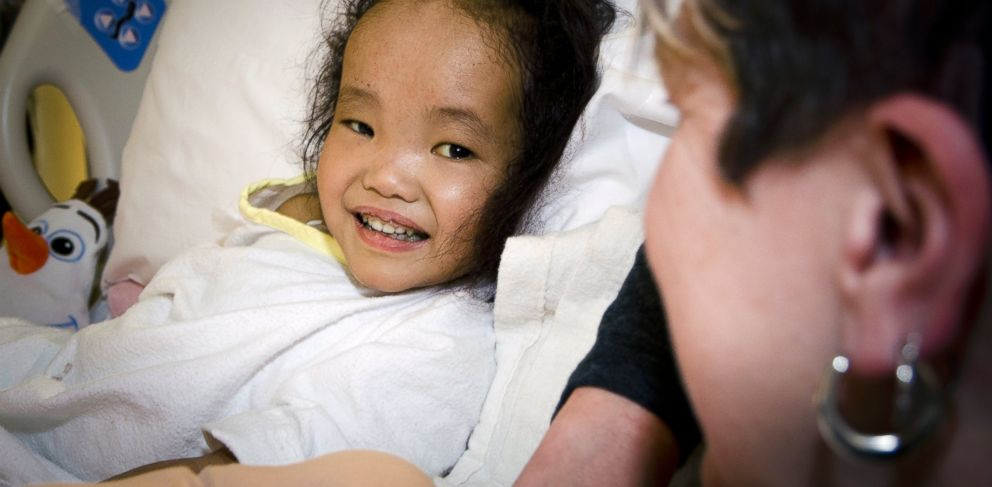 PHOTO: Binh Wanger received a life-saving liver transplant months after her twin sister had the same operation.