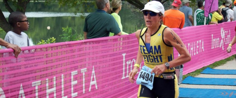 PHOTO: Runner Amanda Loudin.