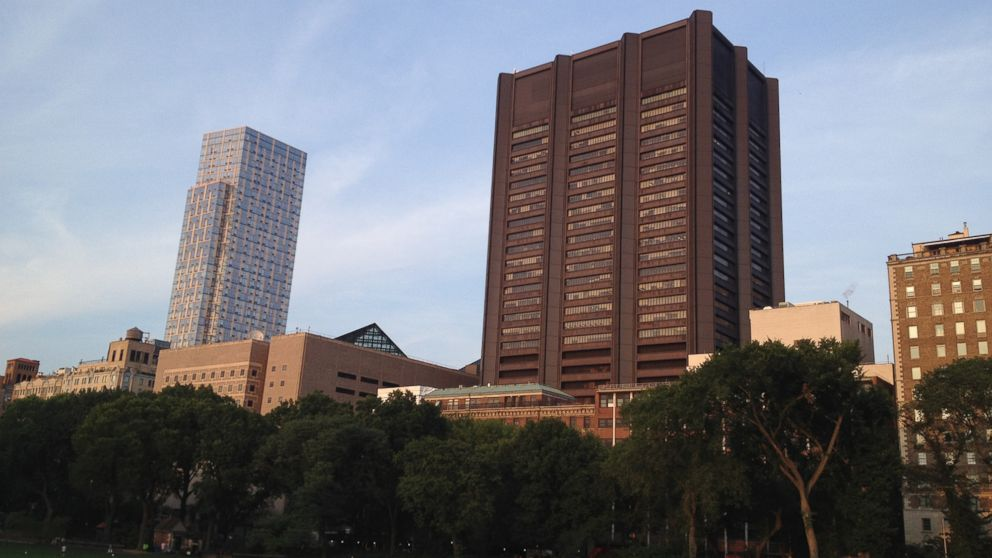 PHOTO: Mt. Sinai Medical Center is seen from Central Park in New York City.