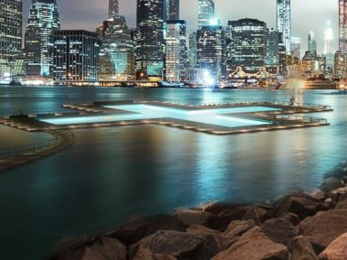 Massive Swimming Pool Coming to NYC's East River