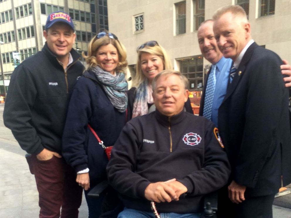 PHOTO: Ray Pfeifer stayed at the World Trade Center site for months after the 9/11 attacks to help with the clean up
