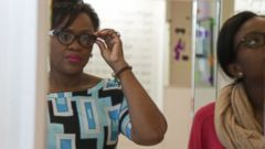 PHOTO: Kemi Ajayi learned some money-saving tips before they got eye exams