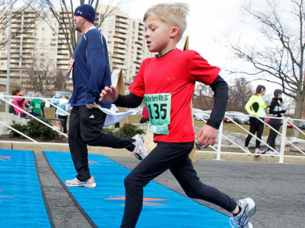 PHOTO: Reinhardt began running when he was 3 years old