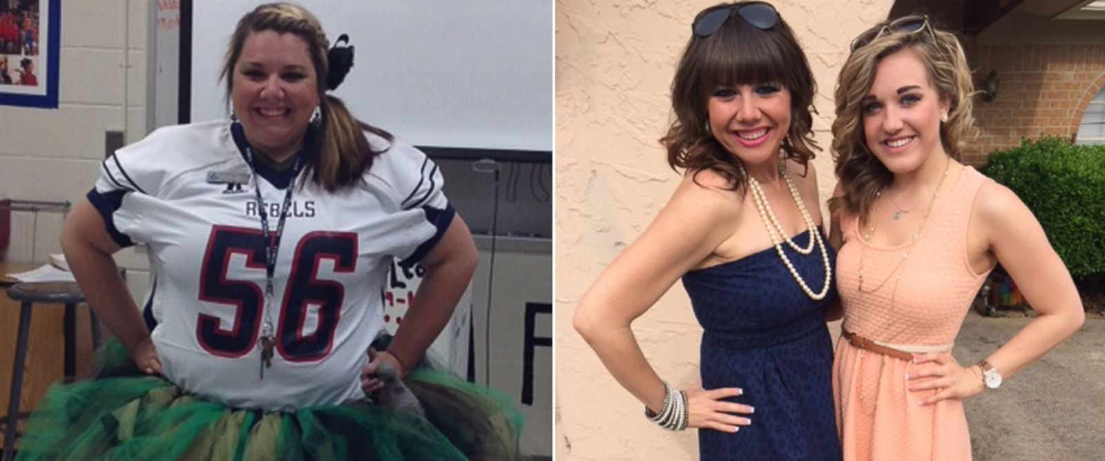 PHOTO: Thanks to Zumba, high-school teacher Roni Traver lost 100 pounds.