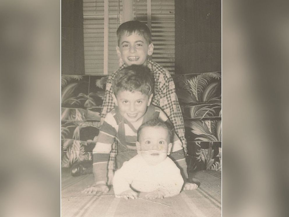 PHOTO: James Fallon wedged between his two brothers. He had a happy childhood.