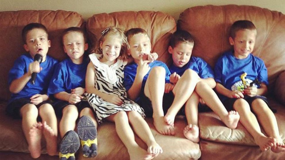 PHOTO: The Byler sextuplets celebrated their sixth birthday on Sept. 1, 2013.