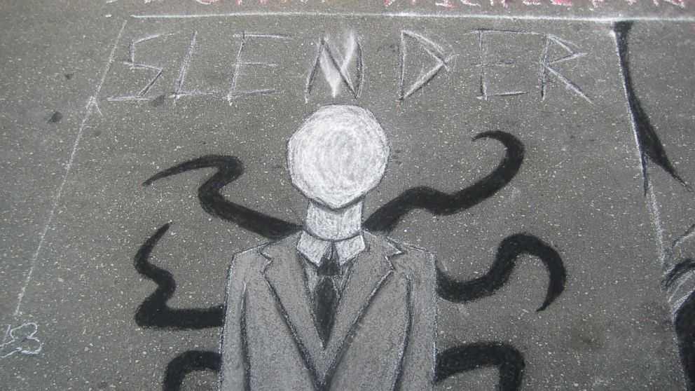 Slender Man Stabbing Drawings Drawings of Slender Man