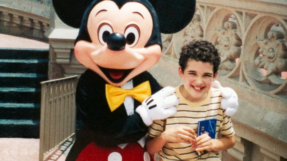 PHOTO: Owen Suskind, age 12, during a visit to Walt Disney World.
