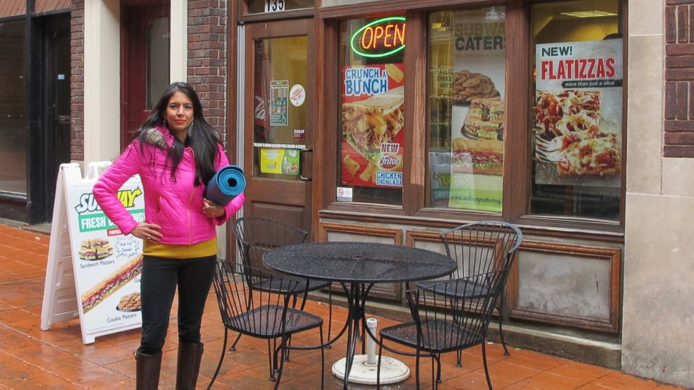 "PHOTO: Vani Hari, the ""food babe"" blogger, is petitioning Subway to take a plastic chemical out of its bread."