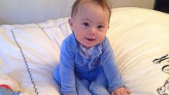 PHOTO: William Brown at five months old.