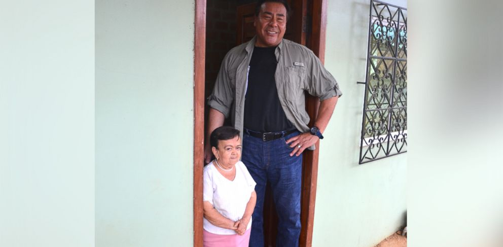 PHOTO: Yolanda Campoverde, 63, was born with a rare form of dwarfism known as Laron syndrome.