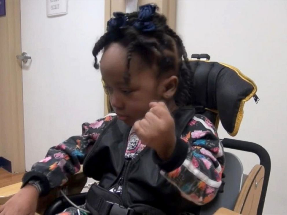 PHOTO: Nevaeh Hall, 4, suffered severe brain damage during a dental office visit in Houston, Texas, on Jan. 7, 2016, according to doctors.