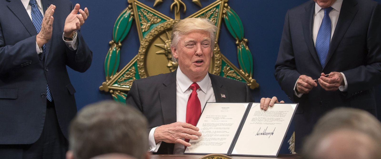proposed trump executive order could curtail lgbt rights abc news