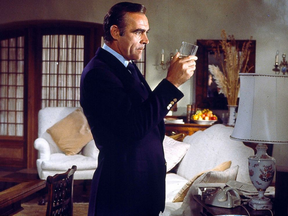 PHOTO: Sean Connery portrays British spy James Bond in the movie version of Diamonds Are Forever.