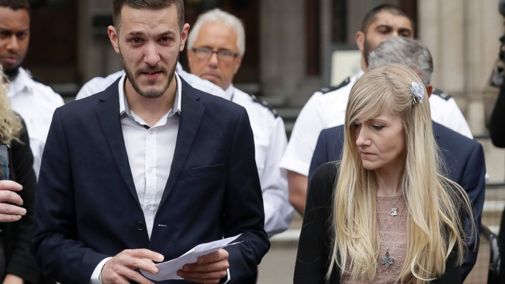 The Latest: US VP Pence offers condolences for Charlie Gard