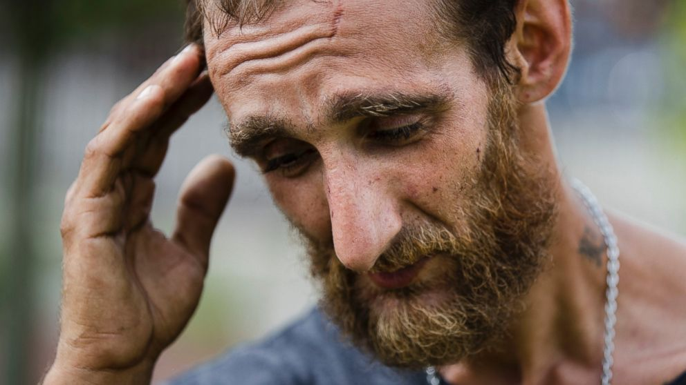 Homeless and on heroin, but turned away from treatment