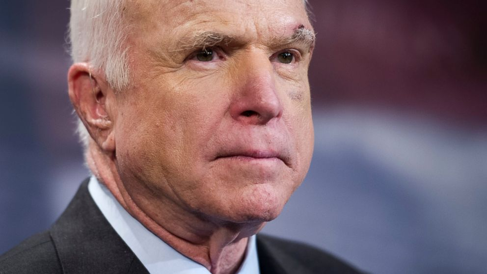McCain says he expects to return to Senate next month