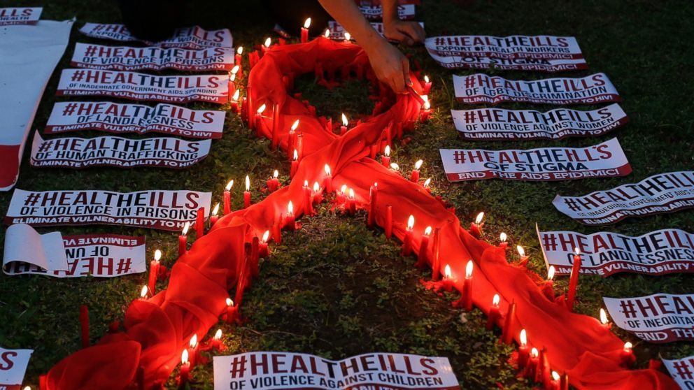 For 1st time, over half of people with HIV taking AIDS drugs
