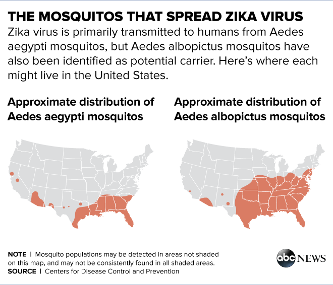 Experts Explain Key To Stopping Zika Virus From Spreading In The - Us virus map