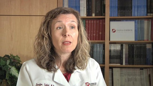 VIDEO: Dr. Jennifer Ligibel says significant hormones are affected by shedding pounds.