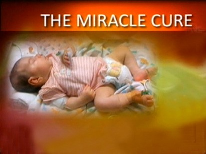 VIDEO: An Australian girls experimental treatment cures her in three days.