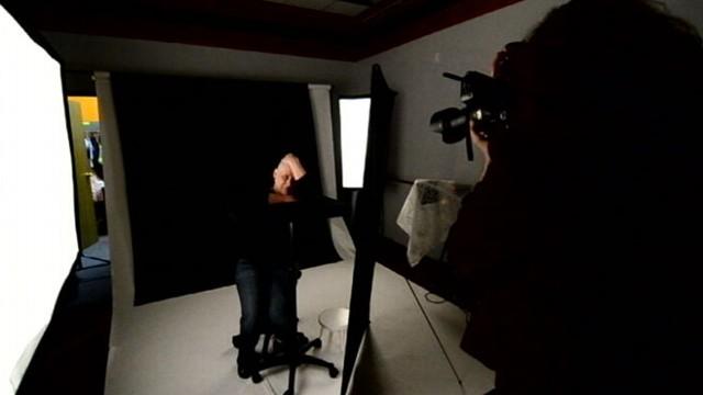 VIDEO: Photographer Terri Shaver provides free life portraits.