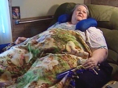 VIDEO: Karen Ferguson is 700 pounds and trapped in her home.