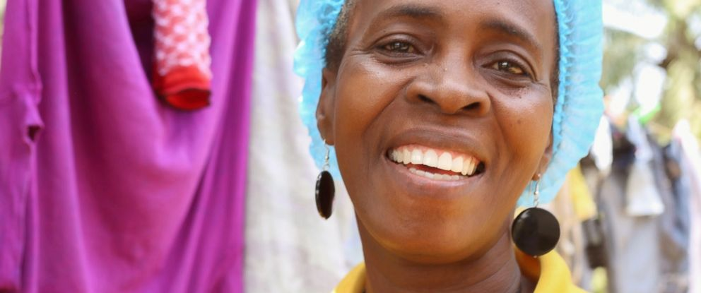 PHOTO: Beatrice Yardolo, Liberias last known Ebola patient, smiles on the day that she was released from a Chinese Ebola treatment unit in Monrovia, Liberia, March 5, 2015.