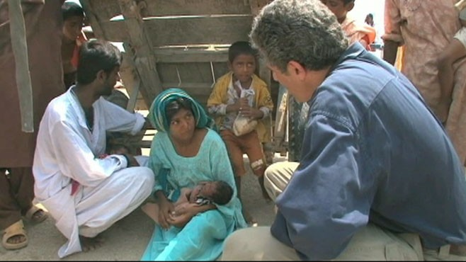 VIDEO: Dr. Richard Besser takes a look at the threat to children and the need for aid.