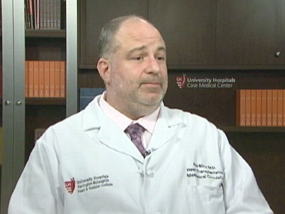 VIDEO: UH Case Medical Centers Dr. Arie Blitz says we should sit less and move more.