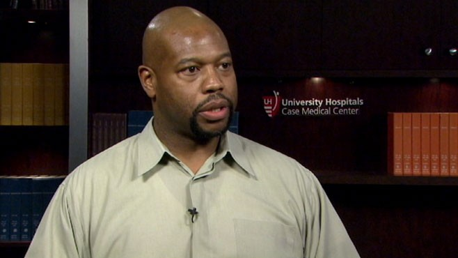 VIDEO: UH Case Medical Center's Aaron Ellington on doing your best under stress.