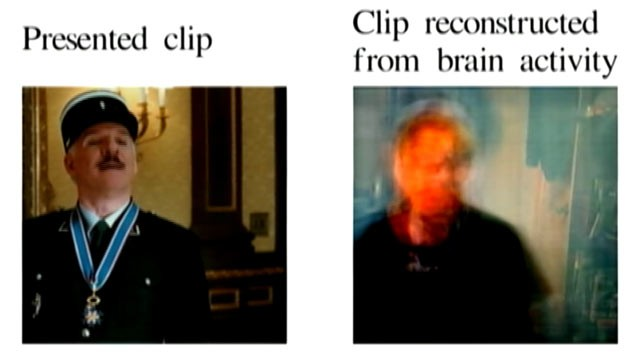PHOTO: UC Berkeley researchers use brain imaging, computer modeling to recreate clips.