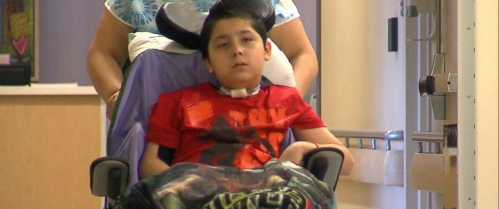 PHOTO: Bryan Sotelo, 11, is being treated at the Childrens Medical Center of Dallas after testing positive for Enterovirus.