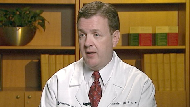 VIDEO: Cleveland Clinics Dr. Daniel Martin comments on his study.