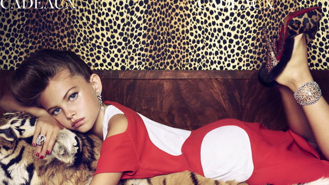 10-Year-Old Model's Grown-Up Look: High Fashion or High Risk ...