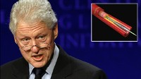 PHOTO U.S. President Bill Clinton, shown in this file photo, was admitted to New York Presbyterian Hospital Feb. 11, 2010, after experiencing chest discomfort.