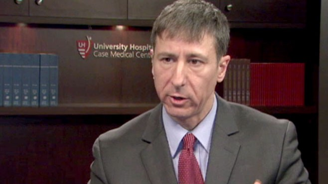 VIDEO: University Hospitals Case Medical Center's Dr. Michael DeGeorgia explains.